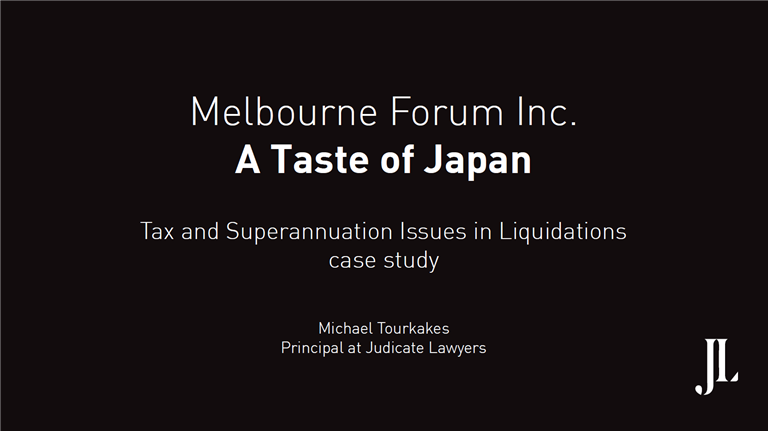 Melbourne Forum Inc